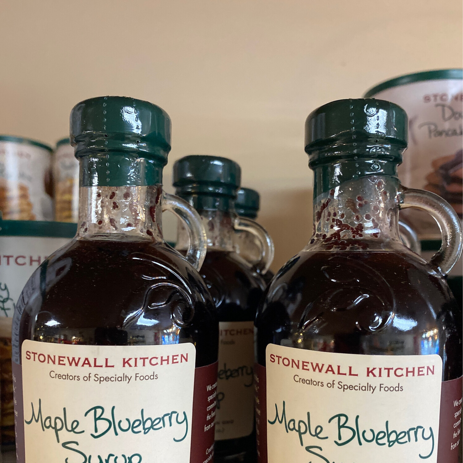 Stonewall Maple Blueberry Syrup