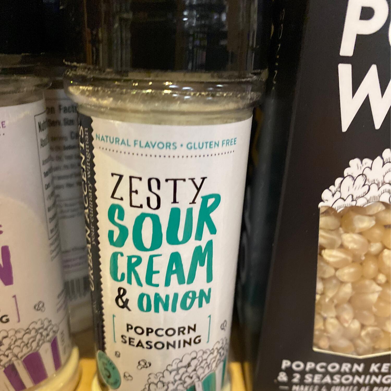 Stonewall Sour Cream And Onion Popcorn Seasoning