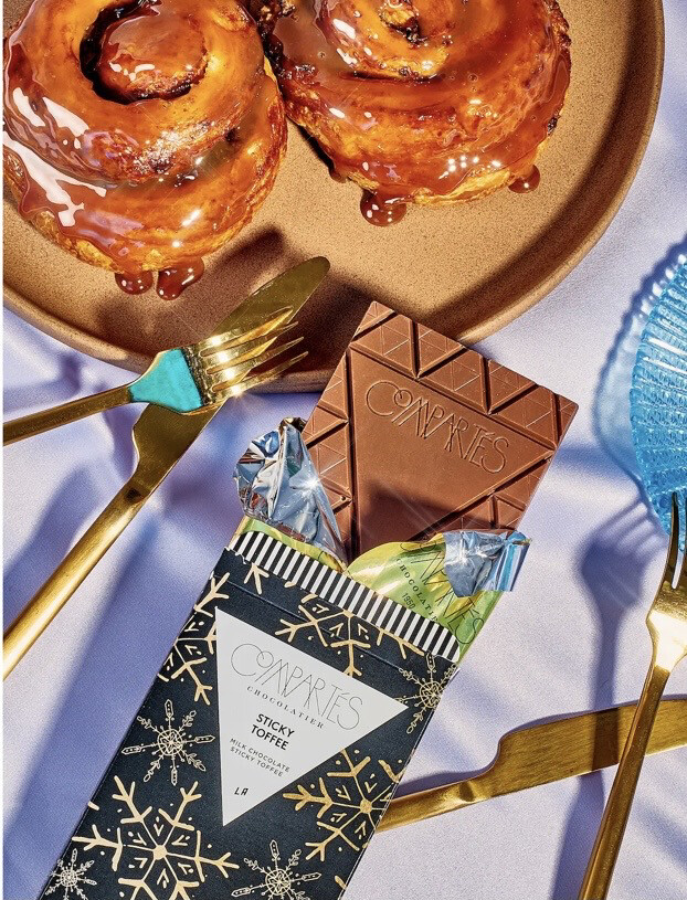 Comparte's Sticky Toffee Bar