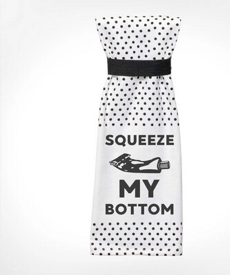Twisted Squeeze My Bottom Terry towel