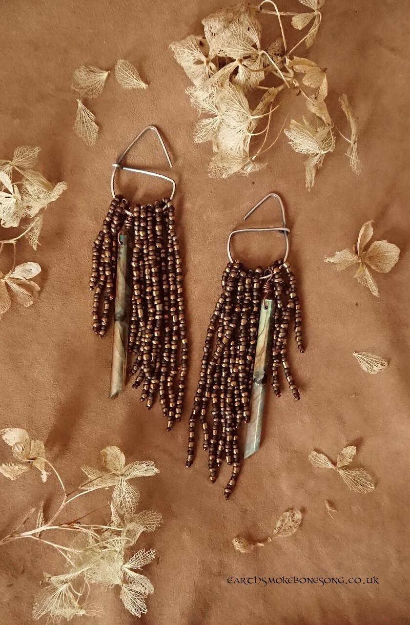 Liquid Gold Earrings