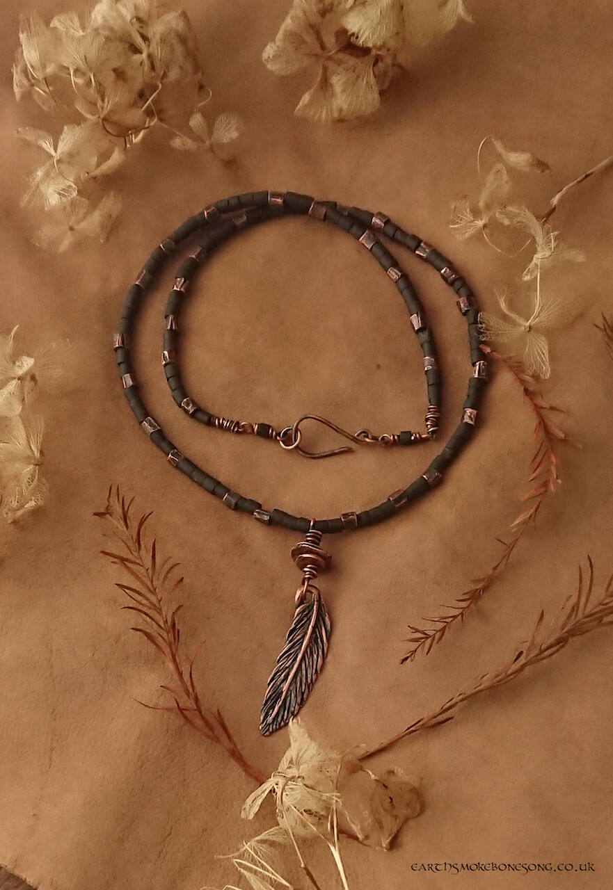Dark Earth Air Necklace