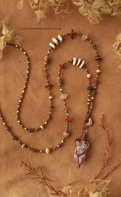 Earth Cave Perfectly Imperfect Goddess - goddess necklace