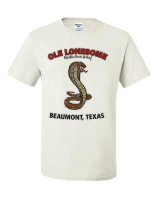 """""""Snake Charles"""" T-Shirt (White)"""