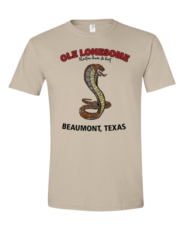 """""""Snake Charles"""" T-Shirt (Sand)"""