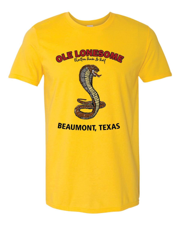 """""""Snake Charles"""" T-Shirt (Daisy)"""