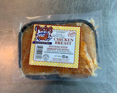 Poche's Stuffed Chicken Breast with Shrimp FROZEN