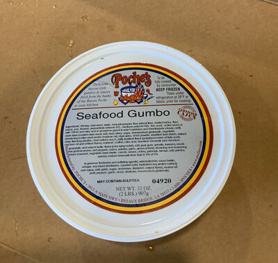 Poche's Seafood Gumbo FROZEN
