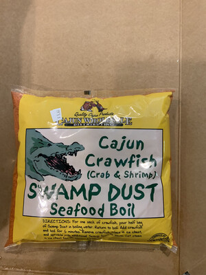 Cajun Crawfish Swamp Dust 4lb