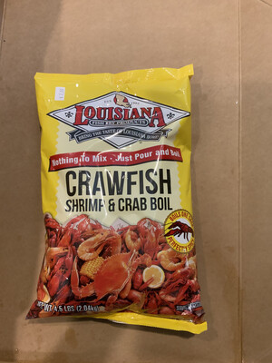 LA Crawfish Boil 4.5lb