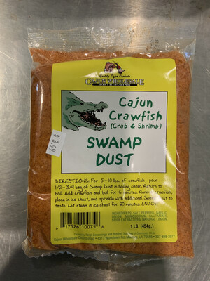 Cajun Crawfish Swamp Dust 1lb