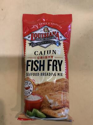 LA. Cajun Crispy Fish Fry