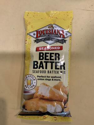 Louisiana Beer Batter Mix