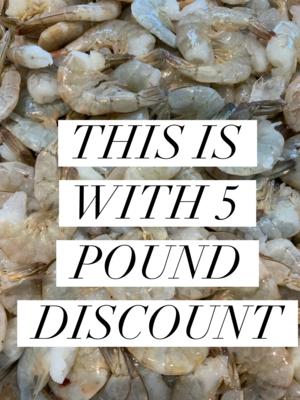 LARGE/MEDIUM EZ PEEL (26/30 Count) 5 POUNDS Discount