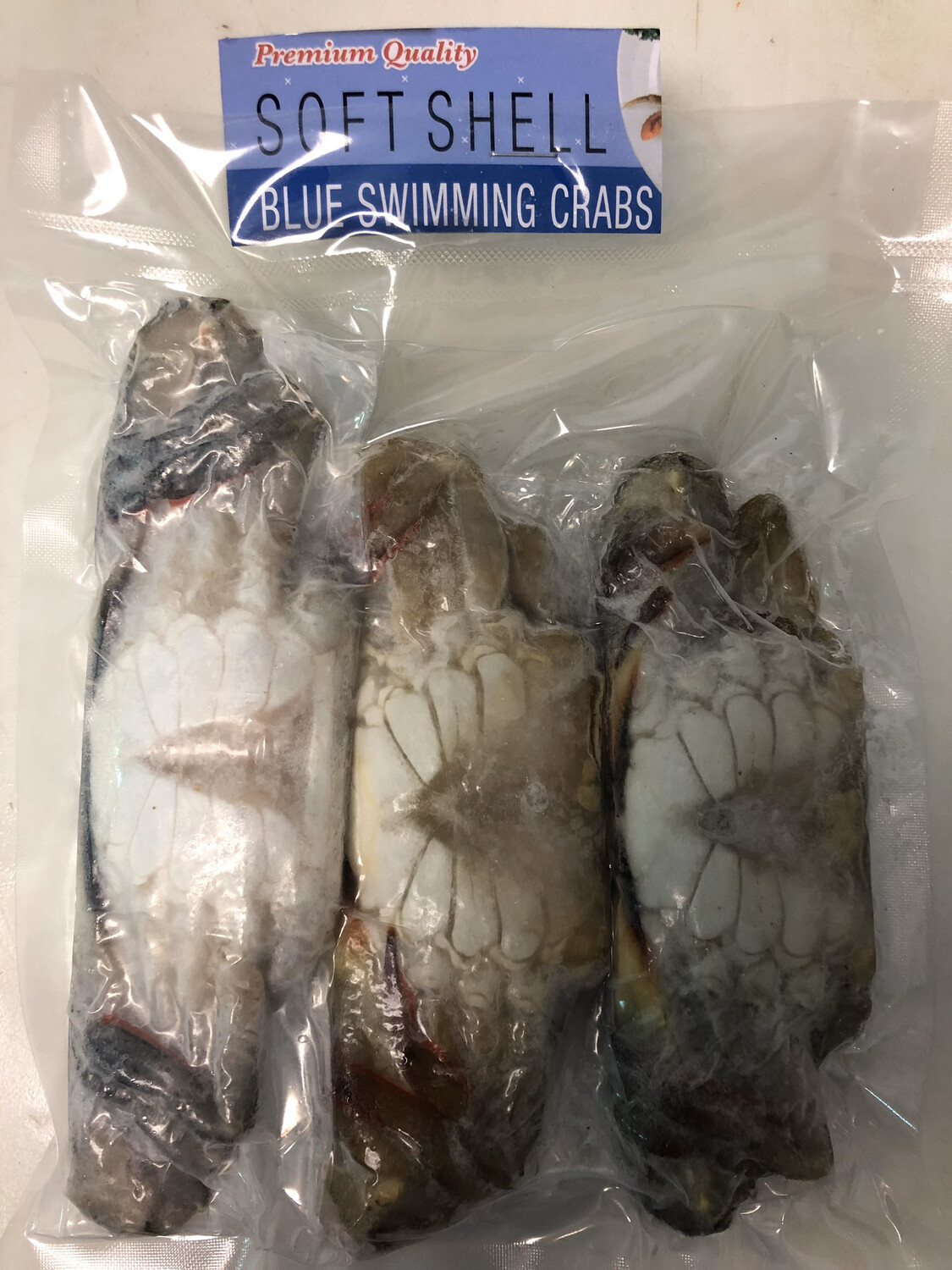 SOFT SHELL CRABS 3 Count Package