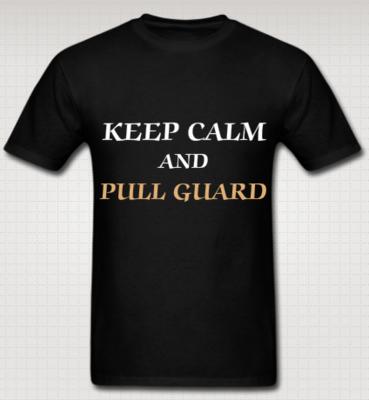 KEEP CALM AND PULL GUARD - WORLD OF JIU JITSU