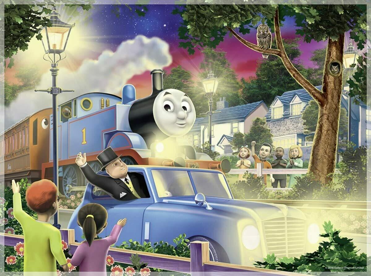 Travelling Thomas Puzzle - 100 pc (glow)