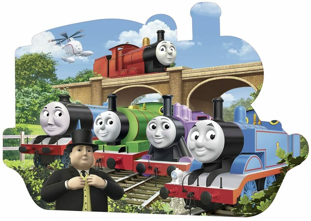 Thomas' World Puzzle - 24 pc shaped