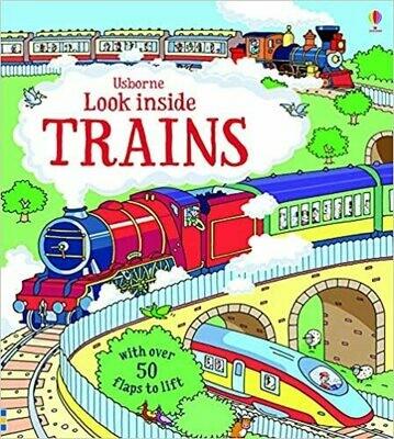 Look Inside Trains - HC