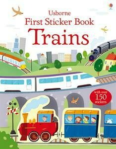 Trains - First Sticker Book - PB