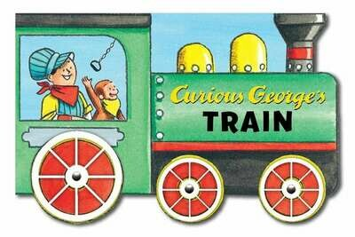 Curious George's Train (shaped) - BB