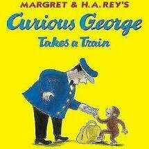 Curious George Takes A Train - PB