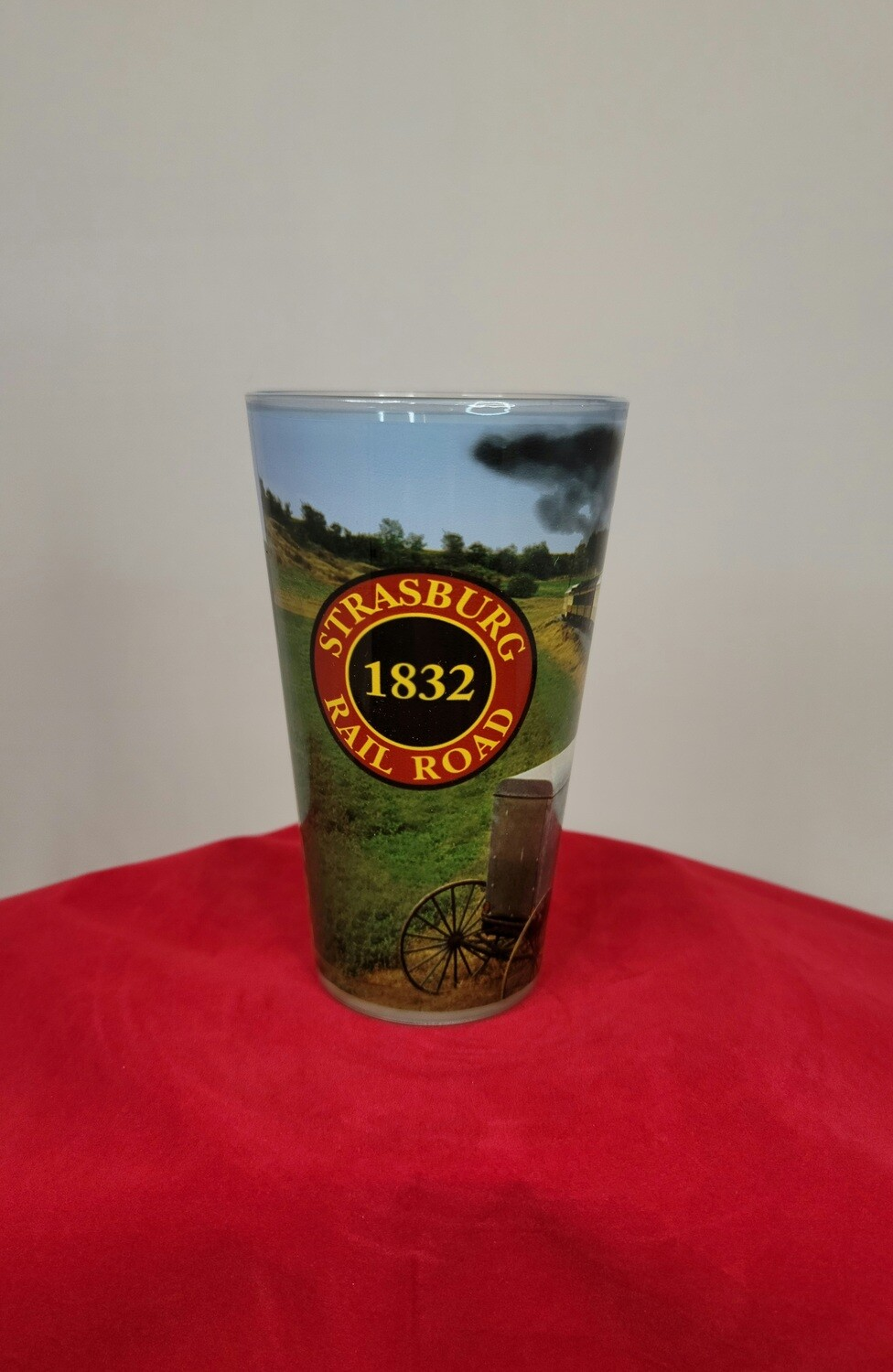 Glass - SRR Pint Full Color Wrap