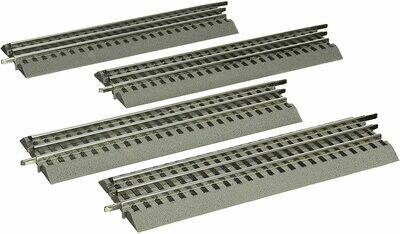 Lionel Fastrack 10''Straight 4-Pack