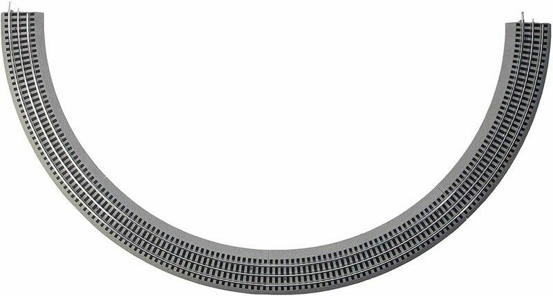 Lionel Fastrack 036 Curve 4-Pack