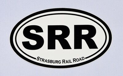 Car Magnet SRR Oval