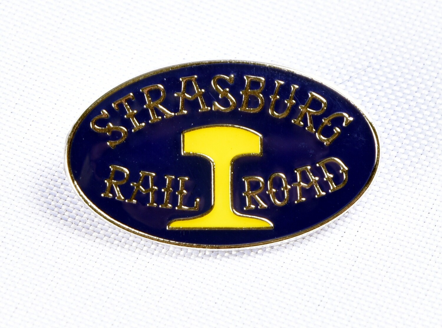 Pin - SRR Blue/Yellow Oval