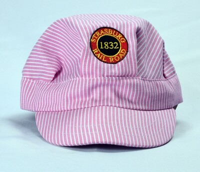 Eng Hat EMBR patch Pink toddler