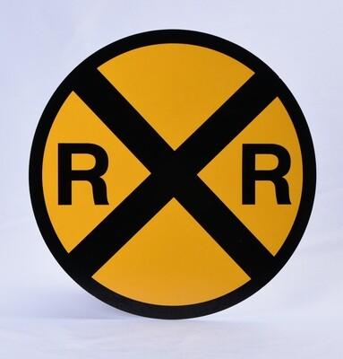 Sign - RR Xing Metal