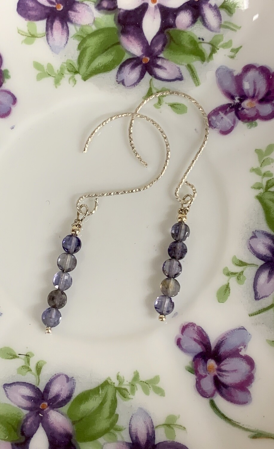 Iolite SS Earrings
