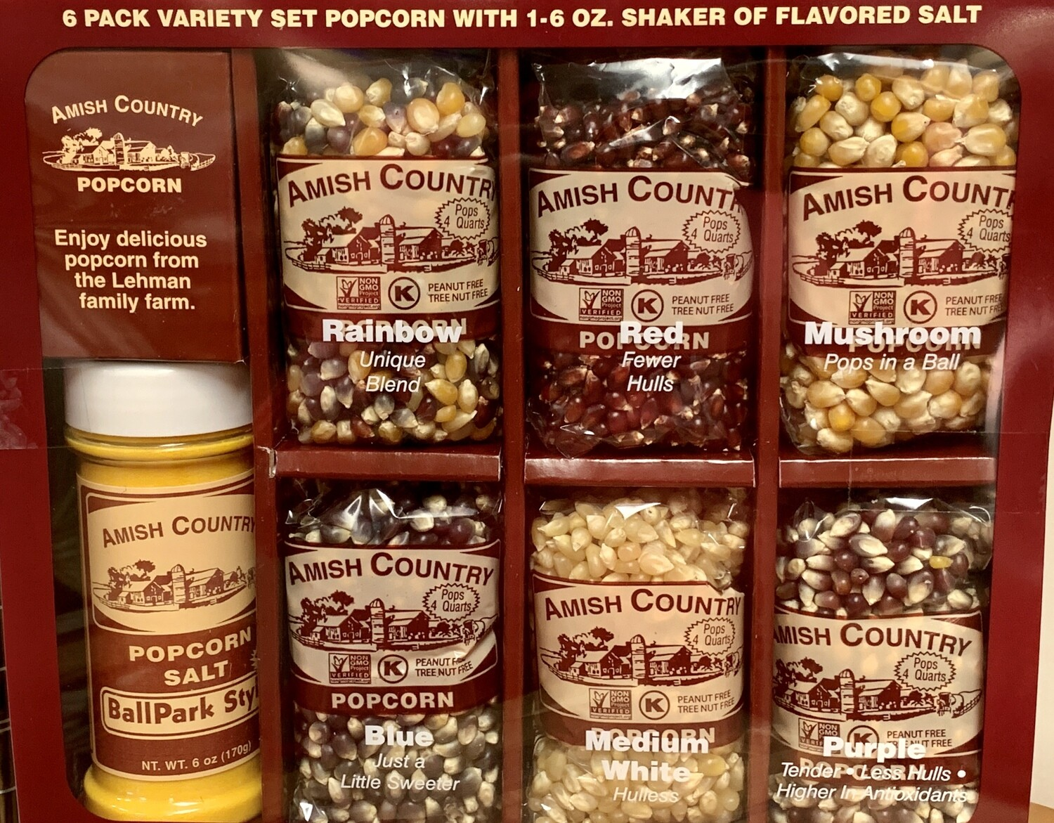 PopCorn Assortment Pack