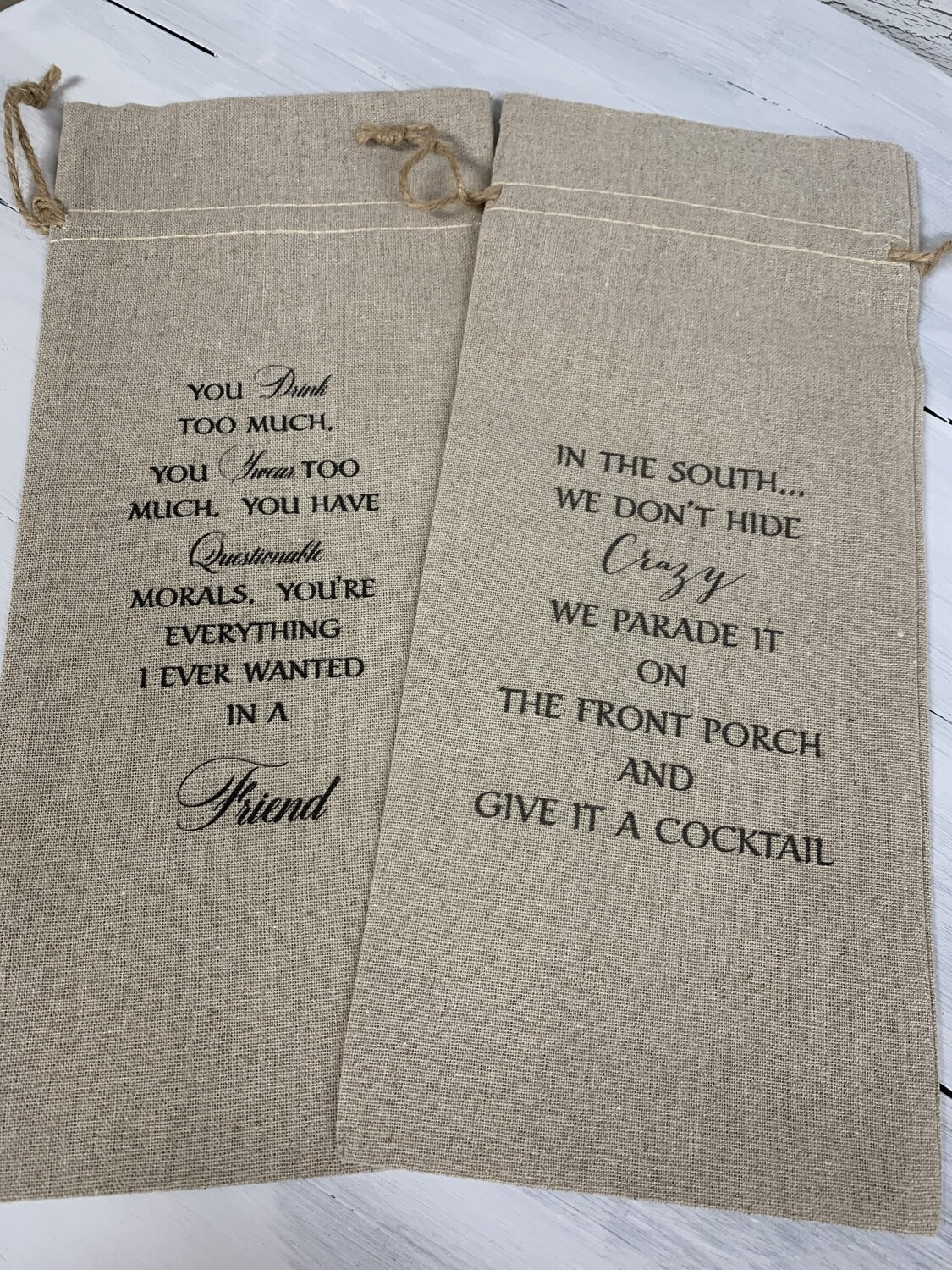 Beverage Gift Bags