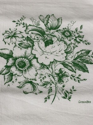 Spring Design Flour Sack Dishtowels