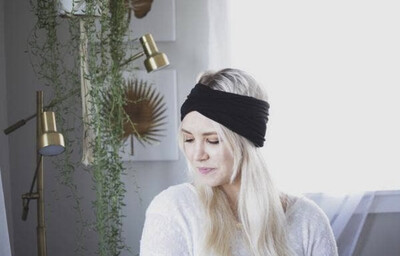 Wide Stretchy Twisted Headband