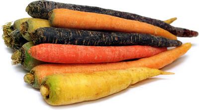 1kg Heritage Carrots