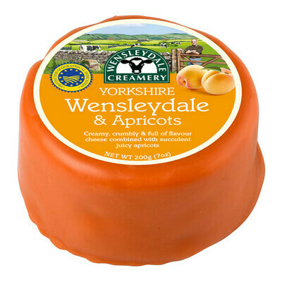 200g Wensleydale & Apricot Cheese