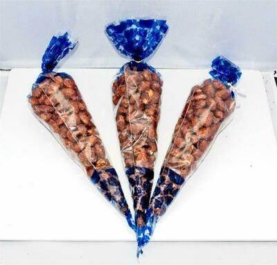 Roasted Almonds Three 6 oz Cones