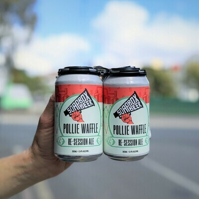 Pollie Waffle - ReSession Ale - Carton