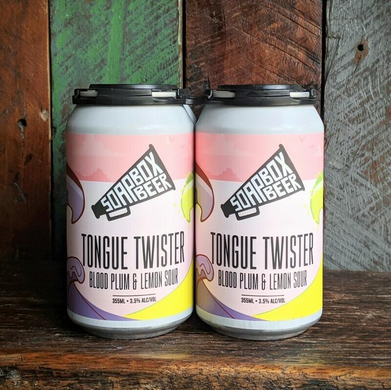 Tongue Twister - Blood Plum & Lemon Sour - Carton