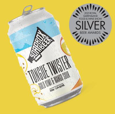 Tongue Twister - Gold Kiwi & Mango - Carton