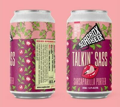 Talkin' Sass - Sarsaparilla Porter - Carton