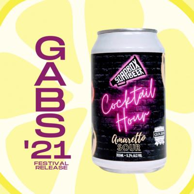 GABS '21 Beer - Cocktail Hour - Amaretto Sour - Carton