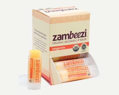 Zambeezi Tangerine Lip Balm