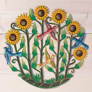 Sunflower Garden Wall Art 31185 Haiti