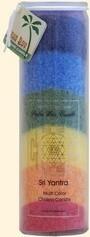 Rainbow Chakra Jar 020108