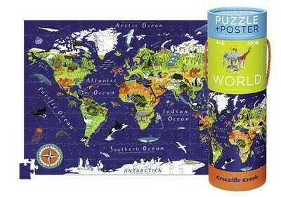 World Poster Puzzle, 200 pcs